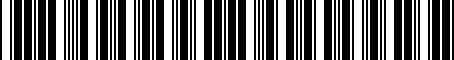 Barcode for 3922035510