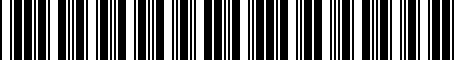 Barcode for 589202E351