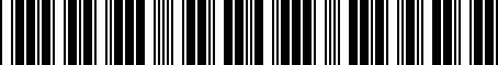 Barcode for 813702C010