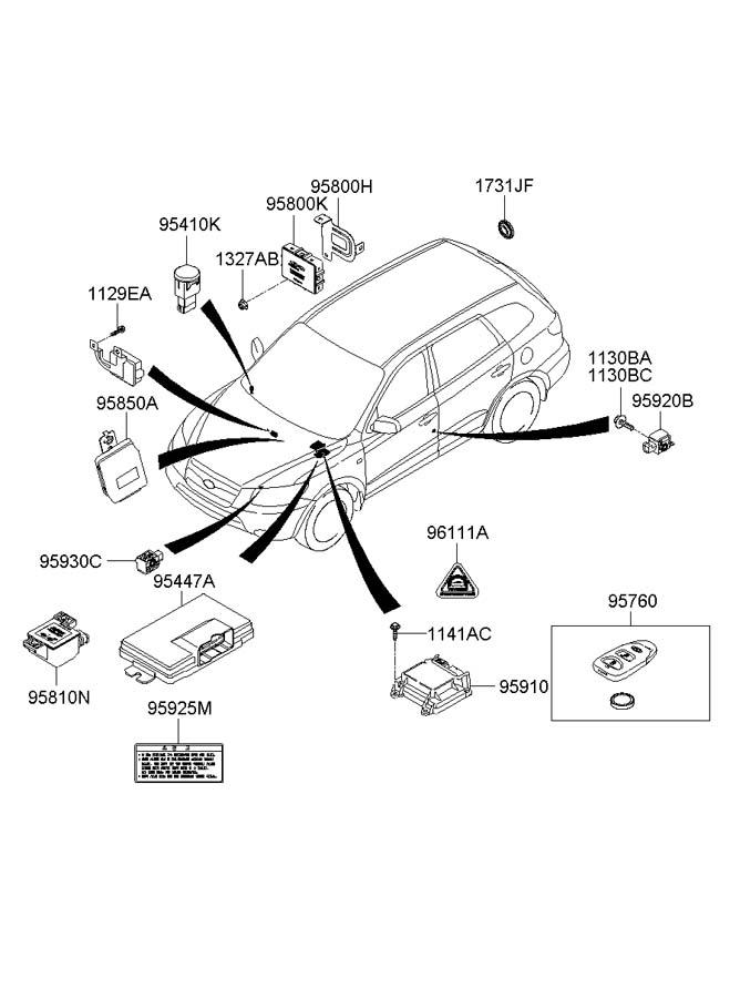952300w310 - Hyundai Relay Assembly