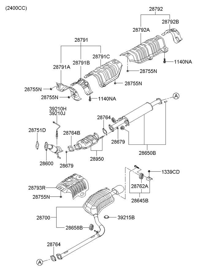 2006 Hyundai Sonata Sensor Assembly