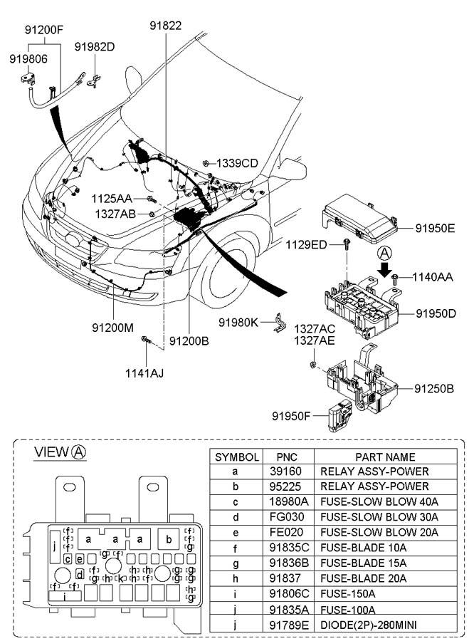 9187038110 - Hyundai Alternator Diode  Diode  2p