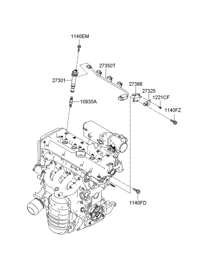 2735026620 - Hyundai Extension Wire