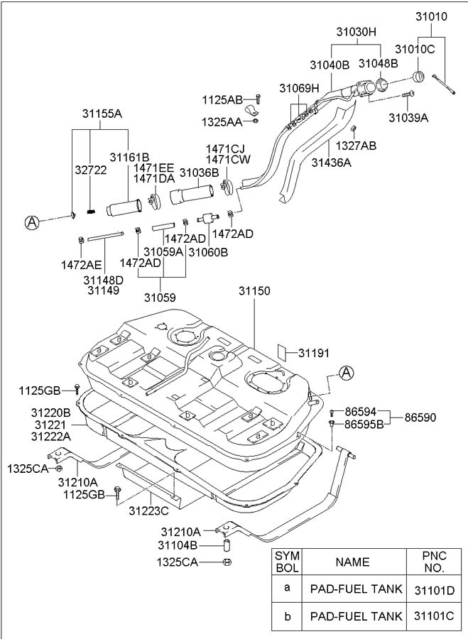 2003 hyundai sonata parts catalog