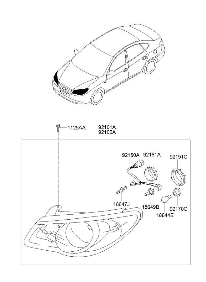 921502h020 - Hyundai Wiring Assembly
