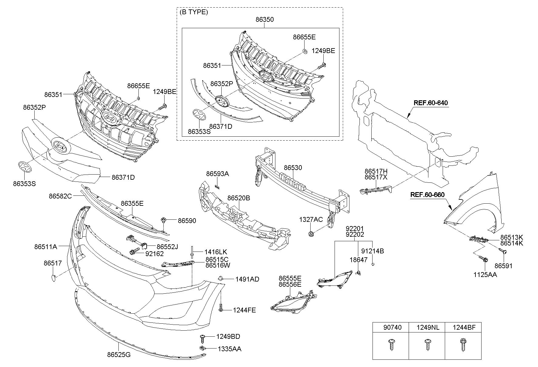 hyundai front bumper hyundai accent central locking wiring diagram 2013 hyundai accent front bumper parts diagram