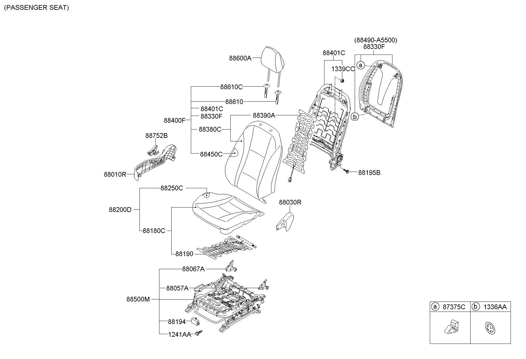 88190a5100 - Hyundai Heater