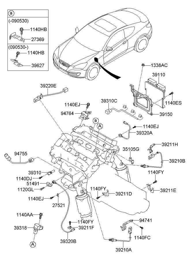 396103c500 - Hyundai Harness