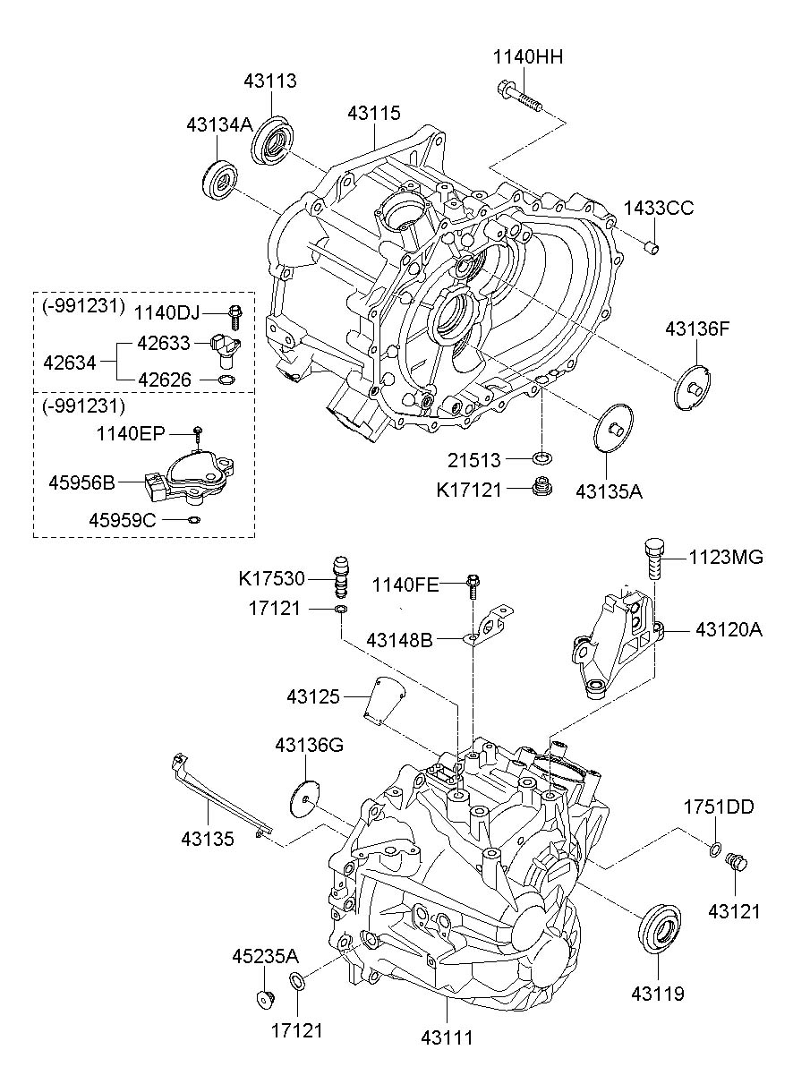 426202a000 - Hyundai Sensor