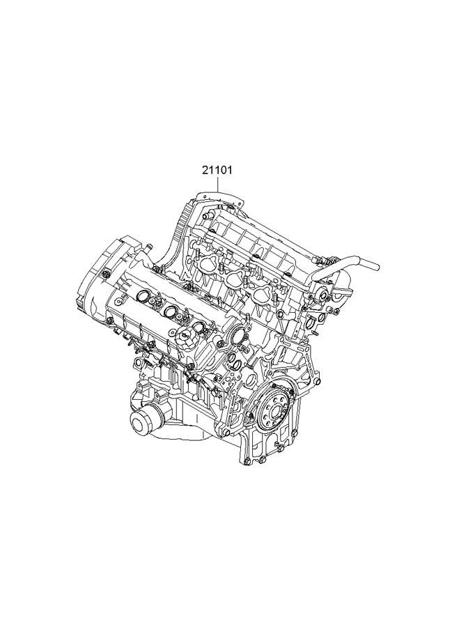 2006 Hyundai Tucson Discontinued Reman Engine