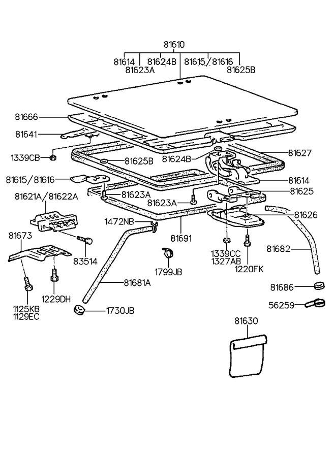 8168621000 - Hyundai Grommet