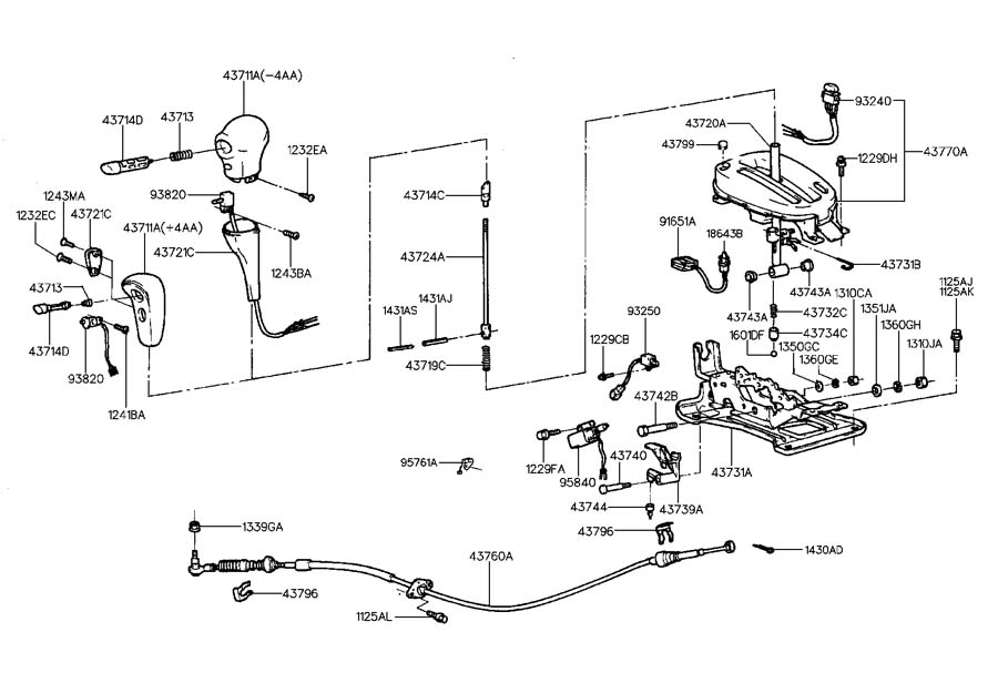 9584034310 - Hyundai Solenoid Assembly