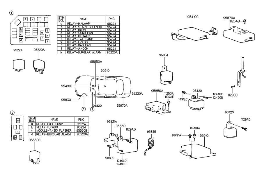 NAS270970091-95201  Hyundai Elantra Turn Signal Wiring Diagram on