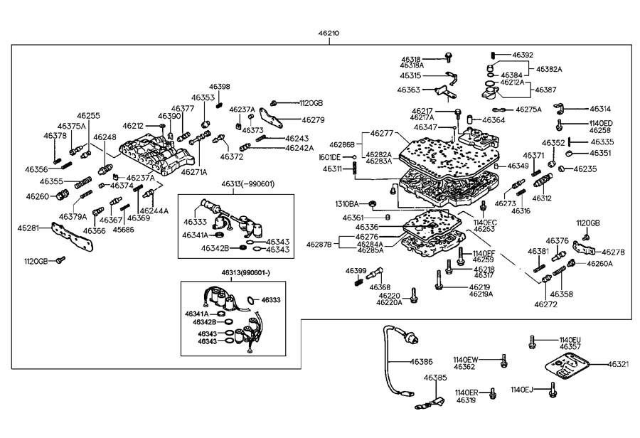 4638622600 - Hyundai Sensor