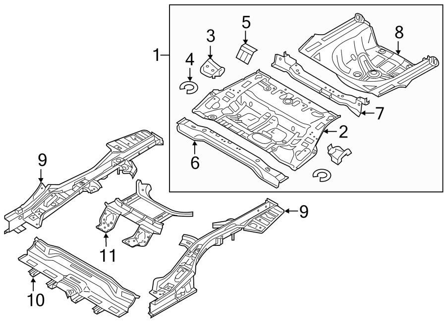 2016 Hyundai Sonata Panel Assembly