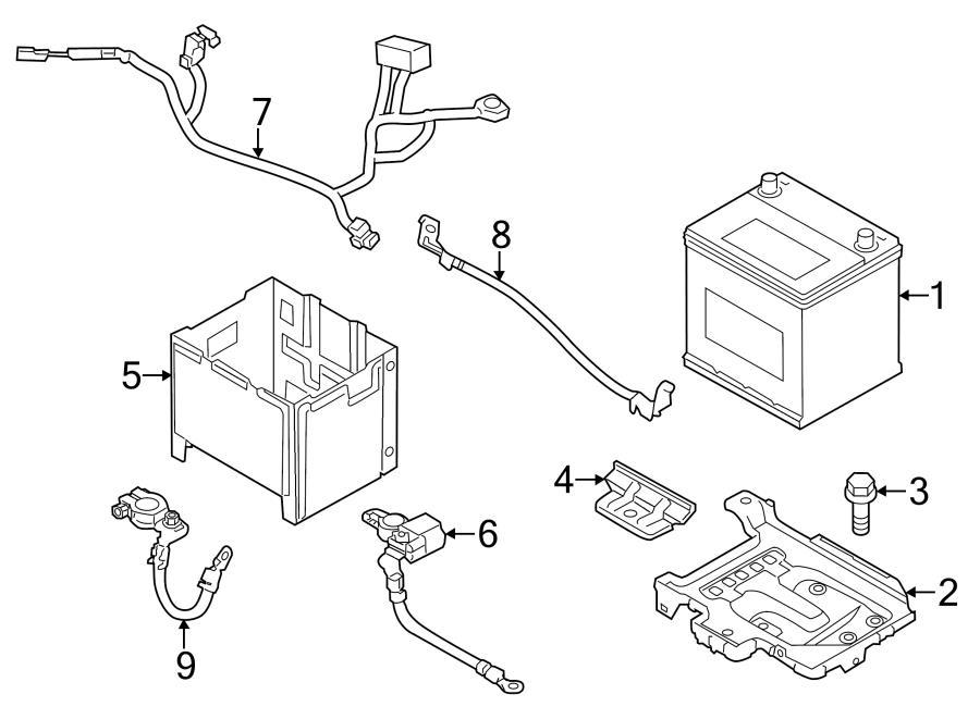 Hyundai Elantra Sensor Assembly - Battery