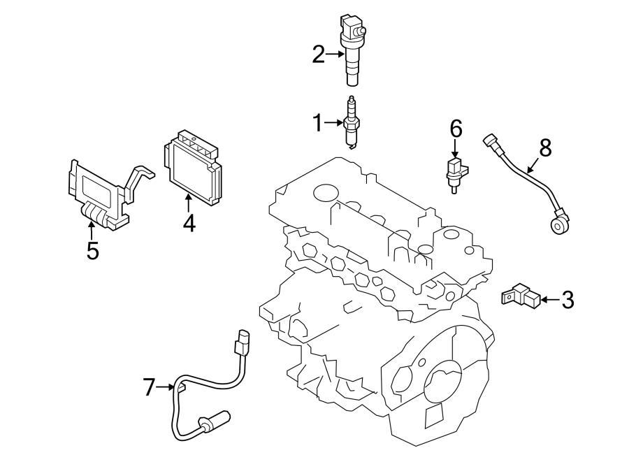 2014 Hyundai Elantra Gt Base Hatchback 2 0l A  T Ignition