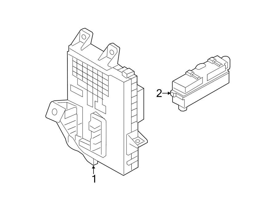 91950a6011 - hyundai junction block  junction box assembly  pnl  instrument panel