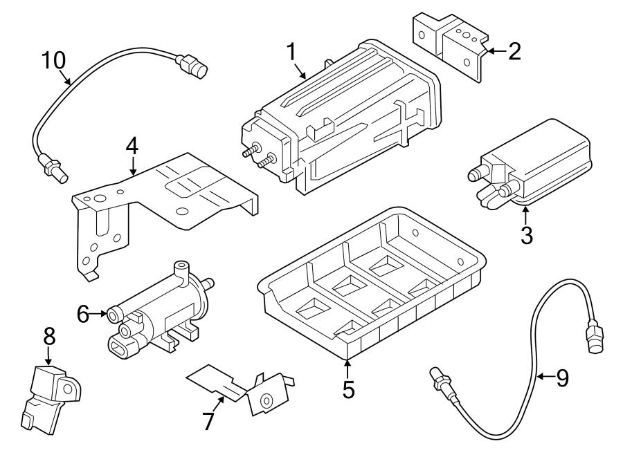 314201d650 - hyundai canister  assembly