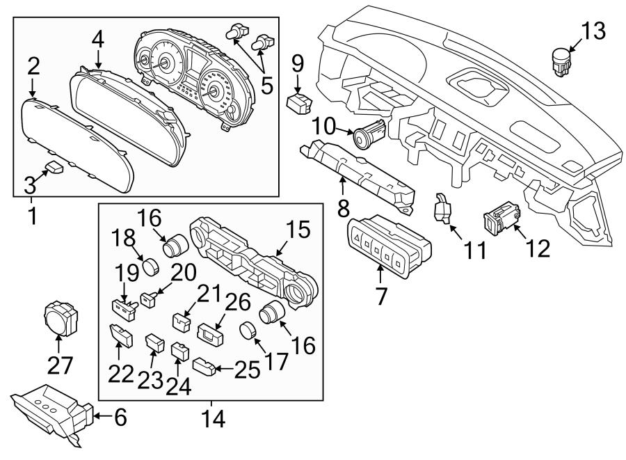 937003n450vm5 - hyundai switch  assembly  pad lower  left hand  lh   tract ctl  traction