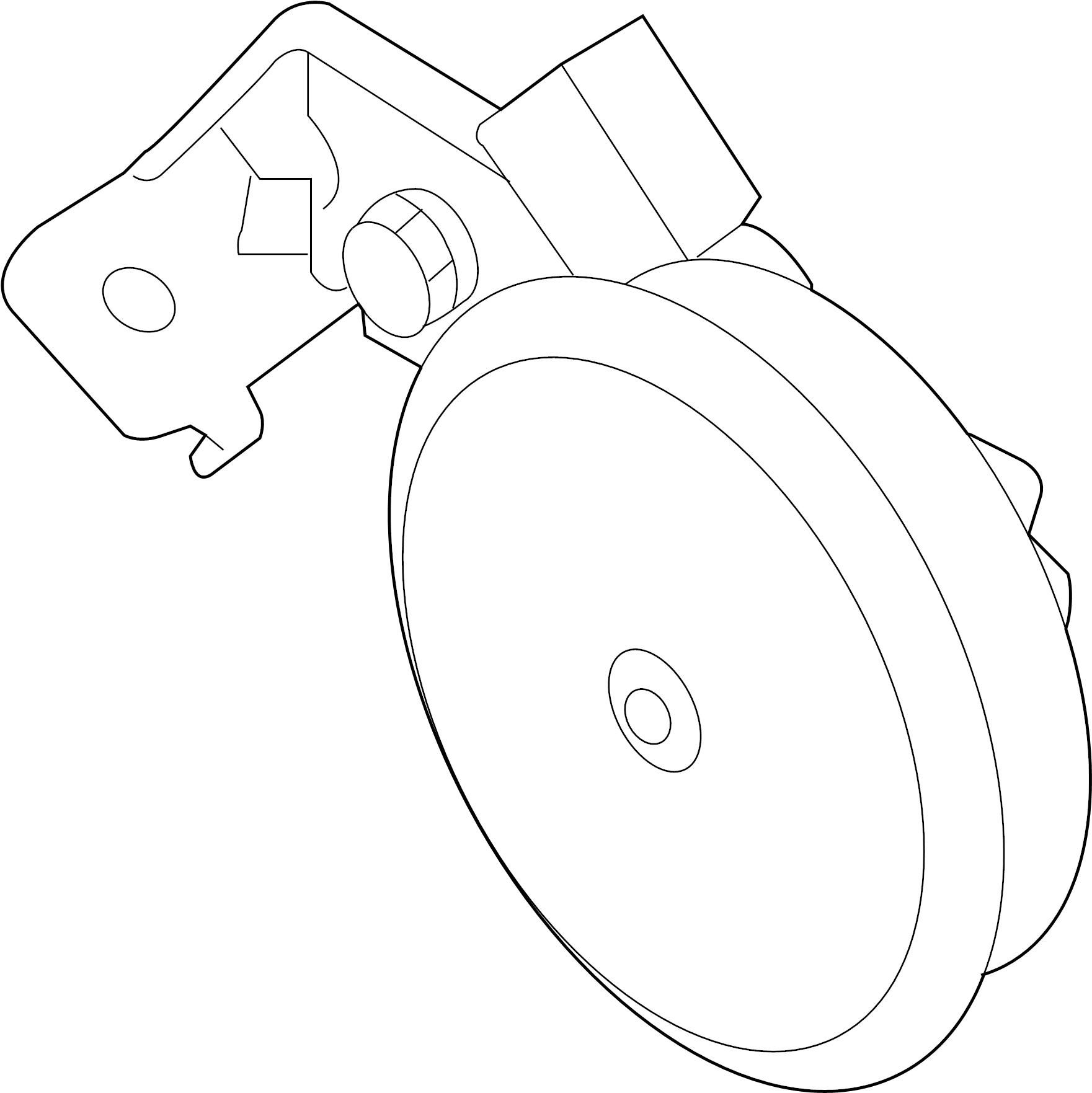 966302s000 - hyundai horn assembly