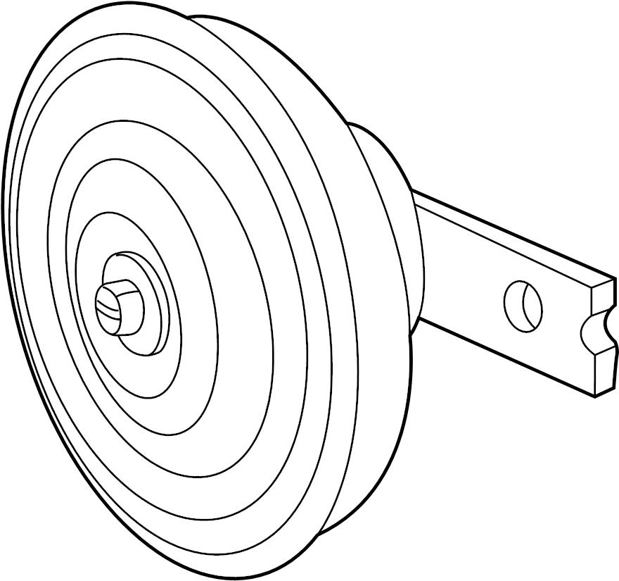 9662026100 - hyundai horn assembly