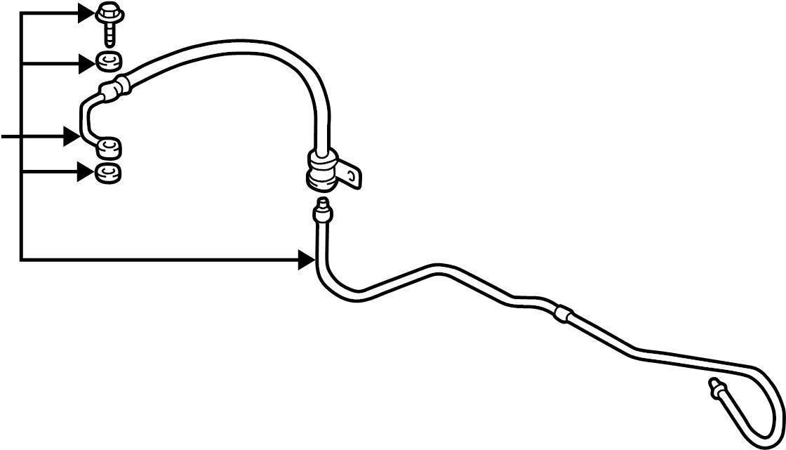 575102d100 - hyundai hose assembly