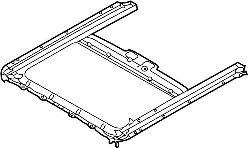 816202l200 - hyundai frame assembly