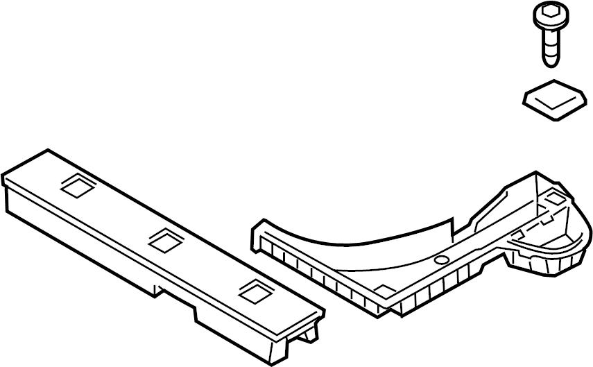 857502l5109k - hyundai tray assembly