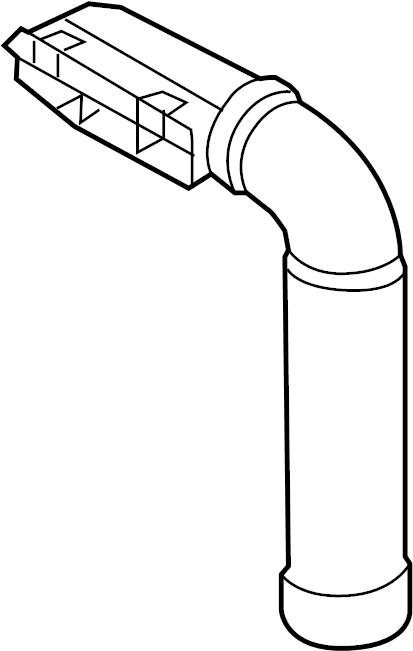 2013 hyundai elantra engine air intake hose  intake tube