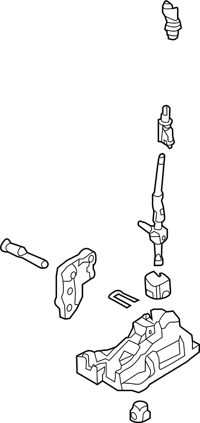 service manual  remove 1994 mercury topaz floor shift