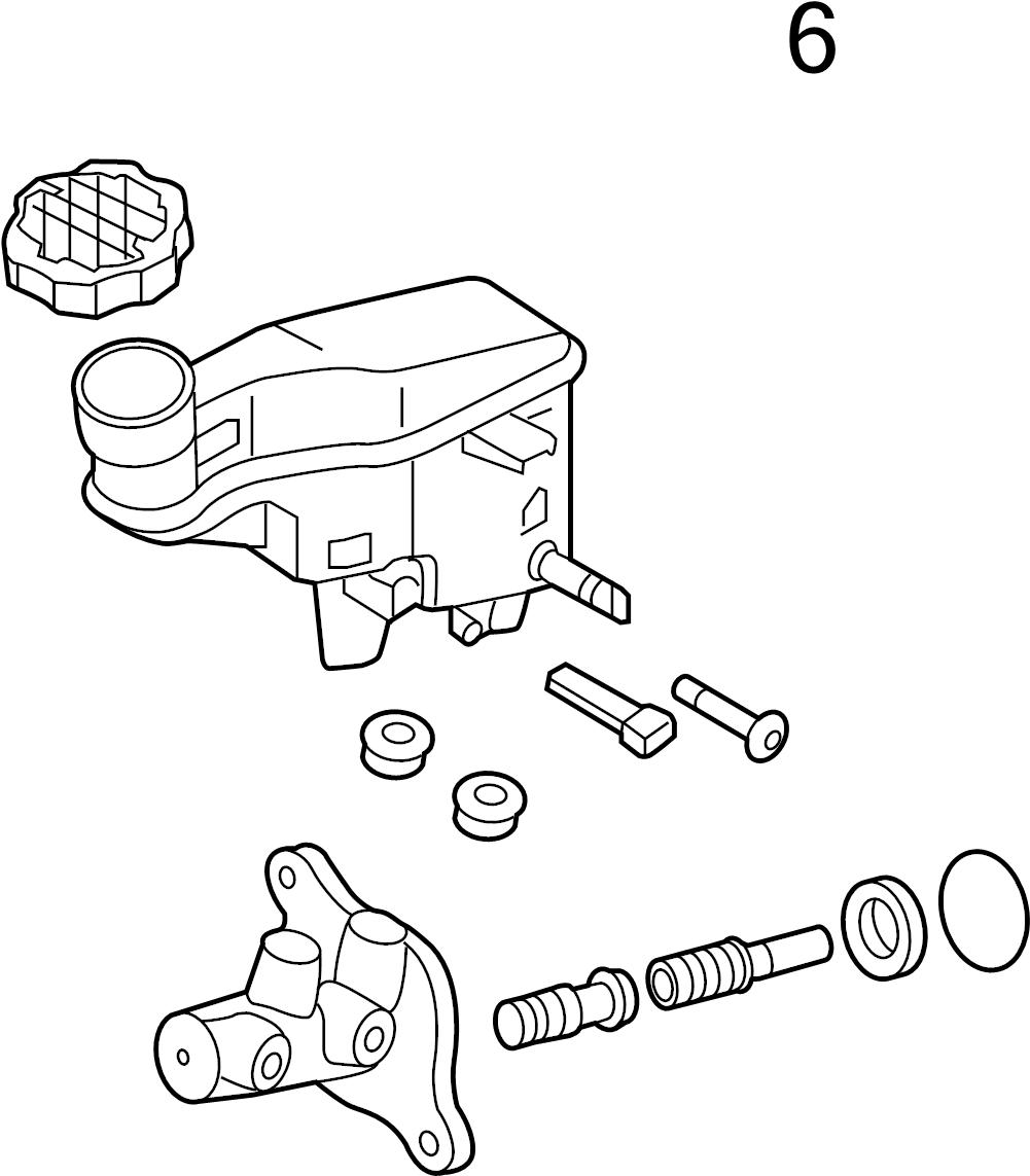 2014 hyundai tucson brake master cylinder reservoir cap