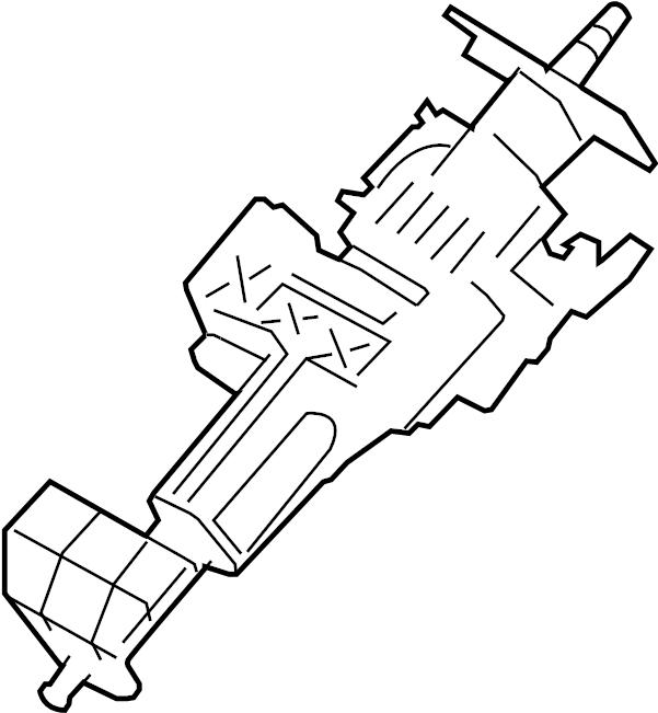 hyundai santa fe steering column parts