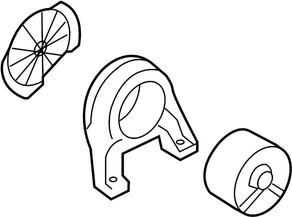 219302p500 - hyundai bracket assembly