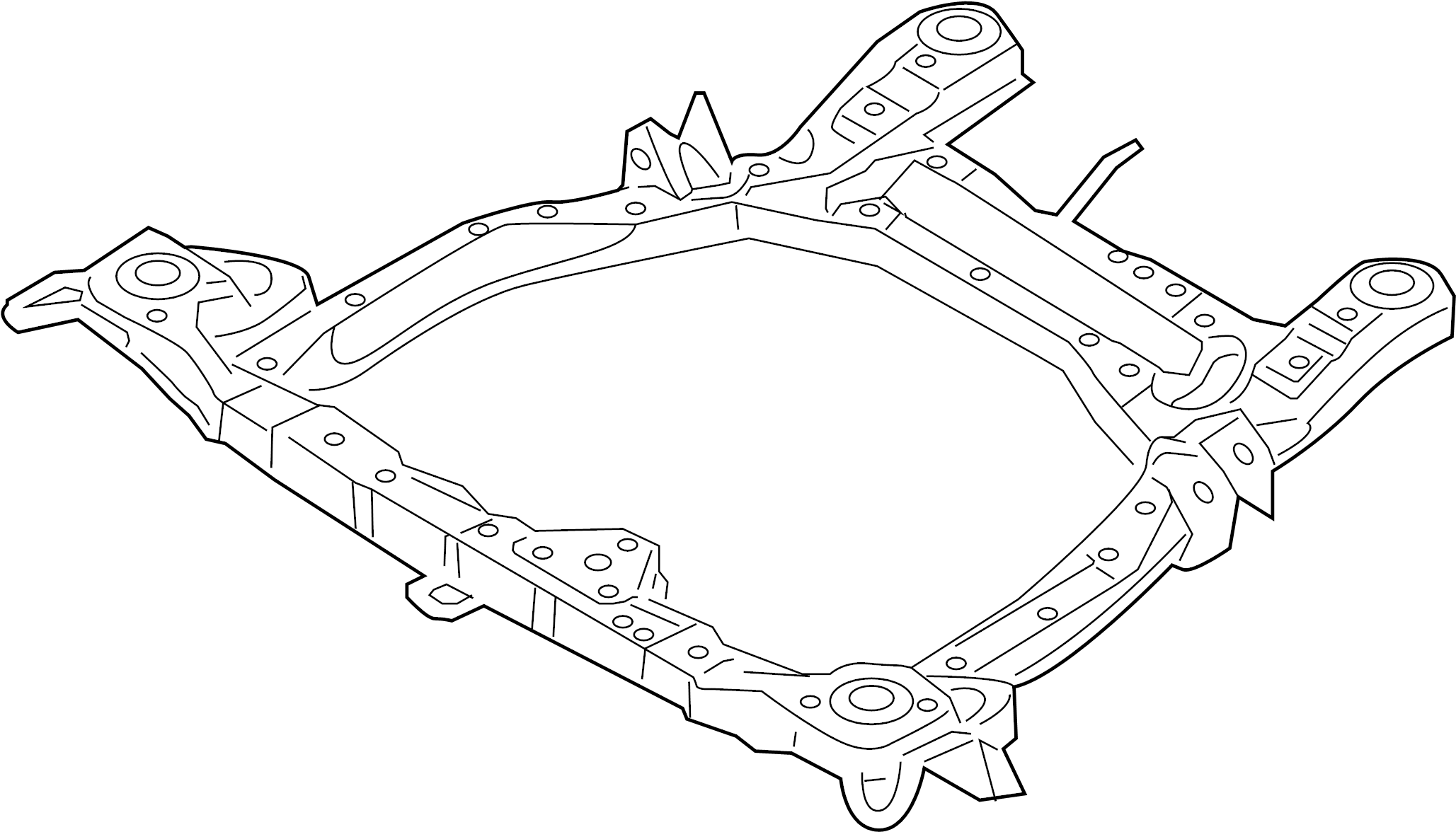 hyundai santa fe front suspension diagrams