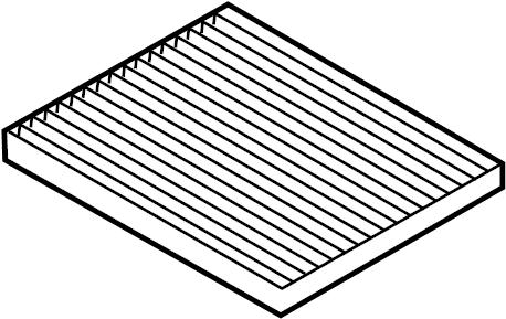 2015 Hyundai Sonata Cabin Air Filter Filter Air Filter