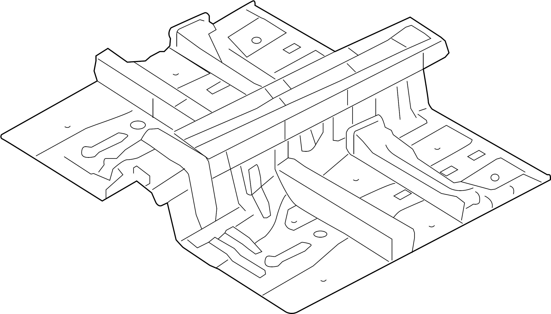 652103m200 - hyundai panel assembly