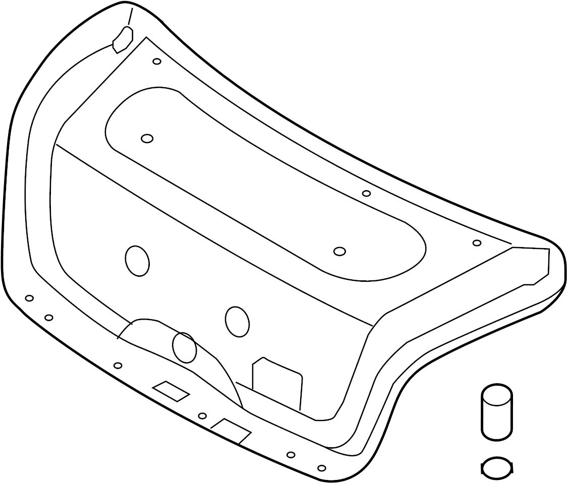 817503m030 - hyundai trim assembly