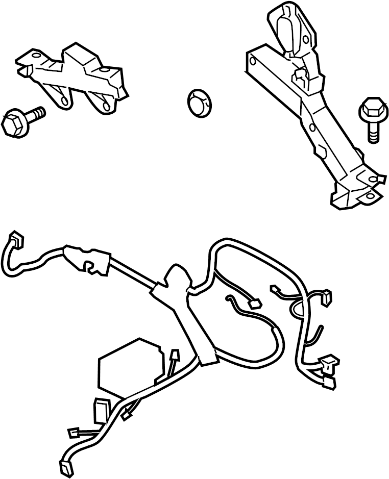 2013 Hyundai Genesis Coupe Engine Harness  Engine Wiring