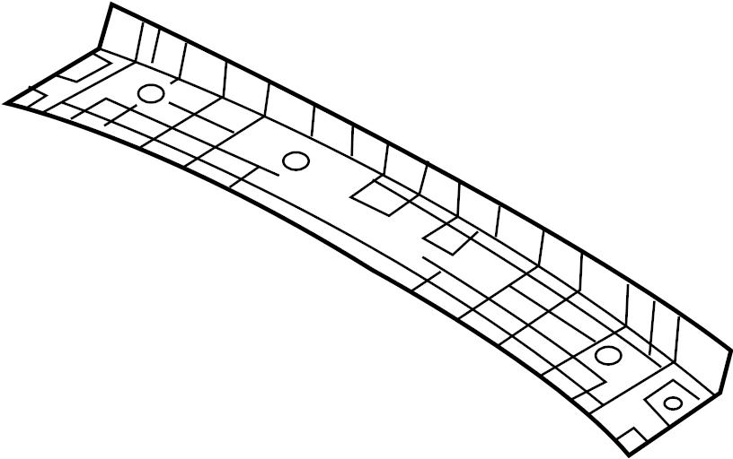 817152v000 - hyundai trim assembly
