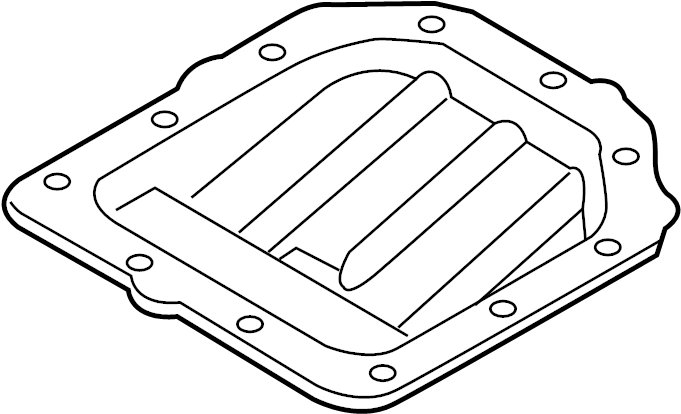 2016 Hyundai Accent Engine Oil Pan  Pan Assembly - Engine Oil